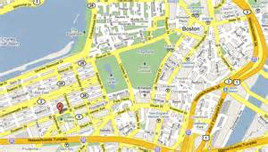 Map Of Downtown Boston by Street Map Of Boston Massachusetts Pictures To Pin On