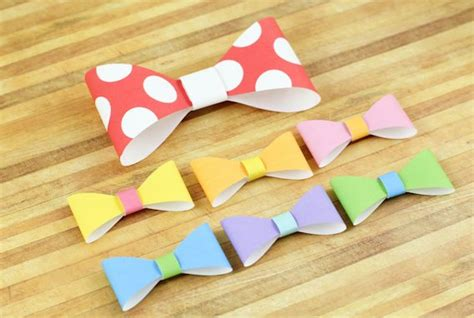 How To Make Paper Bow Tie - best photos of 3d paper bow template how to make paper