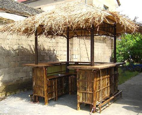Tiki Bar Hut For by Real Bamboo Tiki Bars For Home