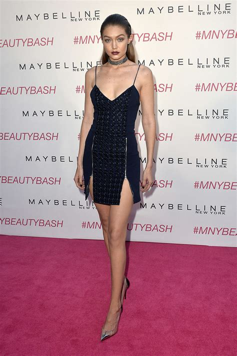 maybelline new york gigi hadid gigi hadid maybelline new york beauty bash 22 gotceleb