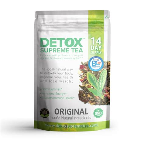 Probiotic Detox by Detox Supreme Weight Loss Probiotic Tea 14 Day Supply