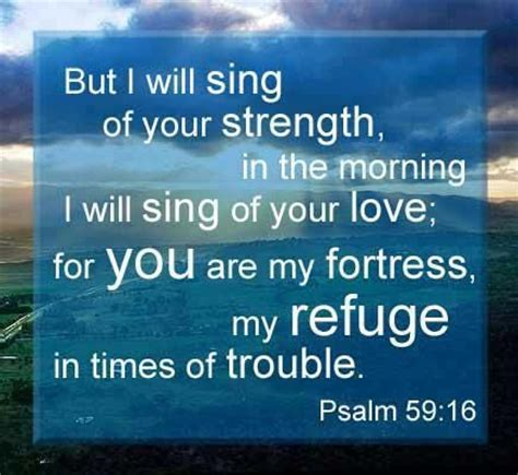 psalms of comfort in times of trouble psalms quotes about strength quotesgram