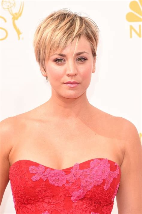 how does kaley cucco style her hair big bang theory penny s haircut kaley cuoco short hair