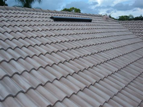 Cement Roof Tiles Concrete Tile Roofing Seminole Fl From Thunder Bay Inc Roofing Commercial And Residential In