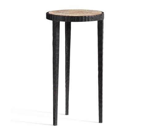 accent side tables grant accent table pottery barn