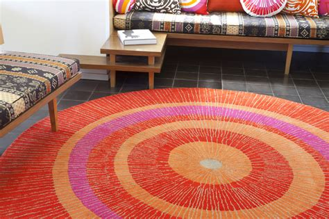 large circular rugs eccentric large rug in orange and by not neutral
