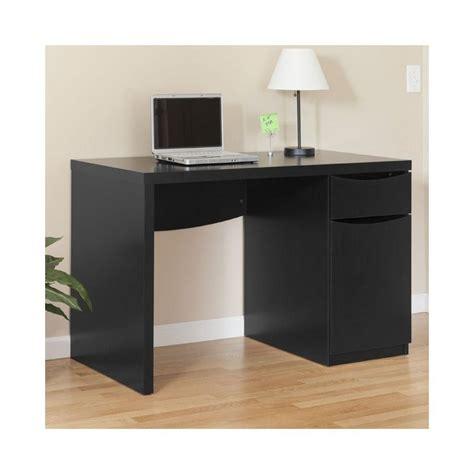 Classic Desk L by Bush Myspace Montrese Desk In Classic Black My72717 03