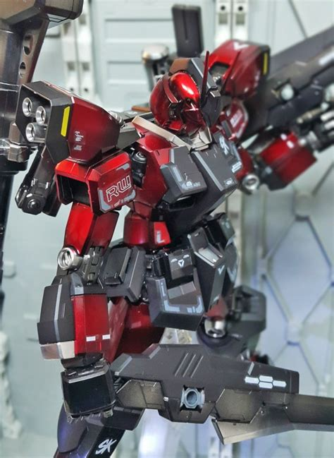 Tg255 Gundam Amazing Warrior Mg mg 1 100 gundam amazing warrior custom work by 연금술사