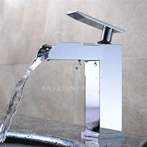 Waterfall Sink Faucets Bathroom by Designed Waterfall Faucets For Bathroom Sinks