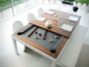 dining table with pool gallery