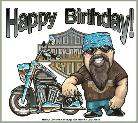 Free Printable Harley Davidson Birthday Cards Iiiii Happy Birthday Birthday Collections Pinterest