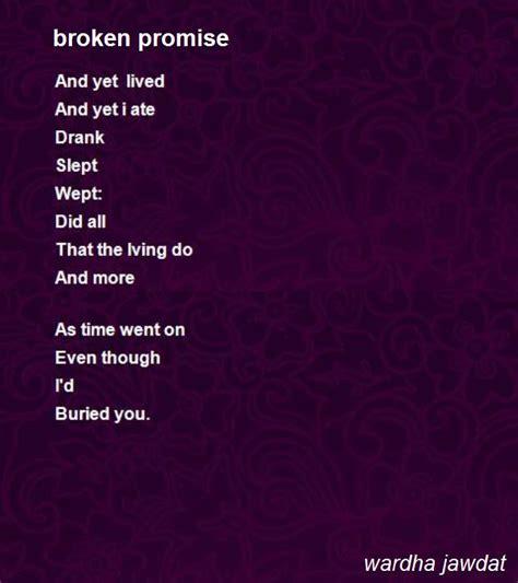 Broken Promises poems about broken promises www pixshark images