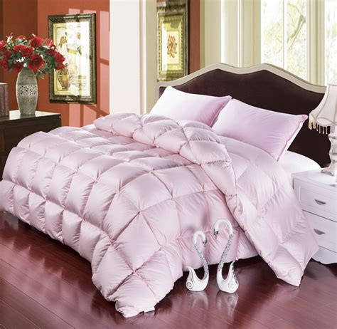 fluffy bed comforters grade a natural 95 goose down comforter twin queen king