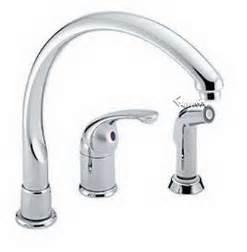 melrose single handle kitchen faucet: delta  single handle lever kitchen faucet with sidespray