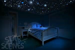 Glowing Stars For Bedroom Glow In The Dark Stars Room Idea Diy Star Ceiling By
