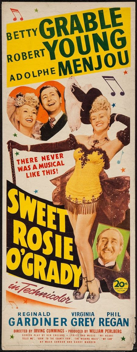 posters musical sweet rosie o grady 20th century