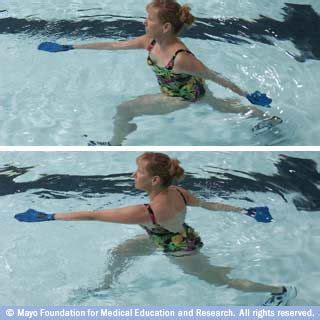 slide show aquatic exercises reanna s rec therapy board exercise pool workout