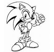 Desenhos Do Sonic Para Imprimir Colorir E Pintar &187