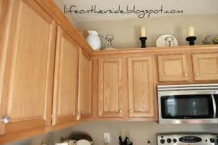Pulls Or Knobs On Kitchen Cabinets by On The V Side Kitchen Before Amp After Painted Kitchen