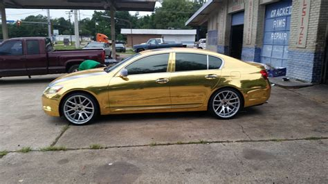 lexus gold lexus gs 300 custom wheels giovanna shaki 20x9 0 et