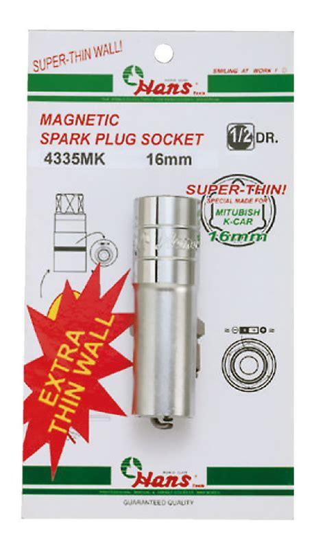 Kunci Socket 1 2 Magnetic Spark Socket Thin Wall thin wall magnetic spark socket 16mm d 19 9mm hanstools shop