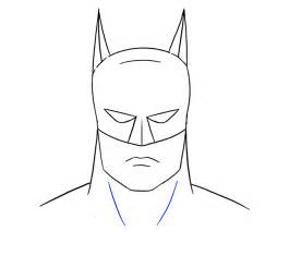 draw batman head easy drawing guides