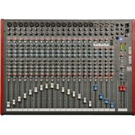 Allenheath Zed 22fx Stereo Mixer With Effect allen heath zed 22fx 16 mono 3 stereo channel mixer with