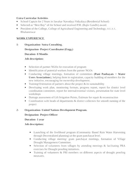project coordinator resume sle sle ethics essay 28 images writing a business paper 28