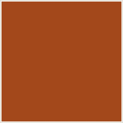 cognac color a3481b hex color rgb 163 72 27 cognac orange