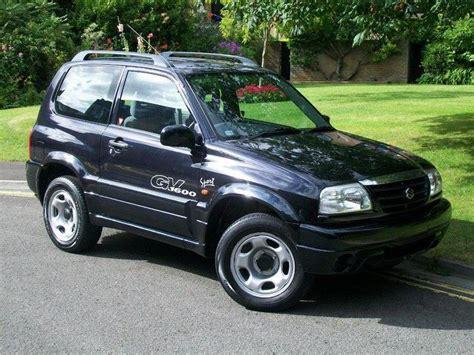 Used Suzuki Vitara For Sale Uk Used Suzuki Grand 2002 Petrol Vitara 1 6 16v Se 4x4 Black