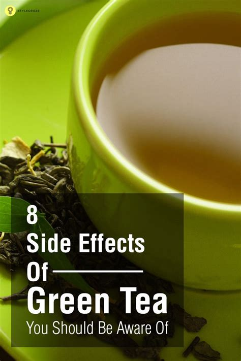 Your Tea Detox Side Effects by 8 Side Effects Of Green Tea You Should Be Aware Of Green