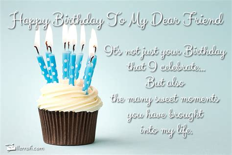 Happy Birthday Dear Friend Quotes My Dearest Friend Happy Birthday Cupcakes