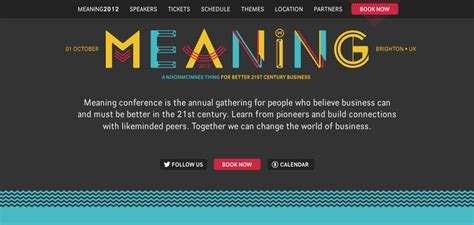design website meaning meaning conference website has a great web design best