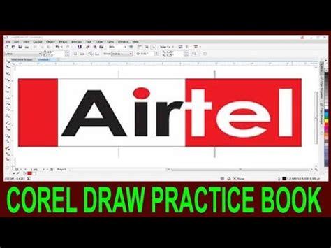 corel draw pdf in hindi how to make logo in corel draw corel draw airtel logo
