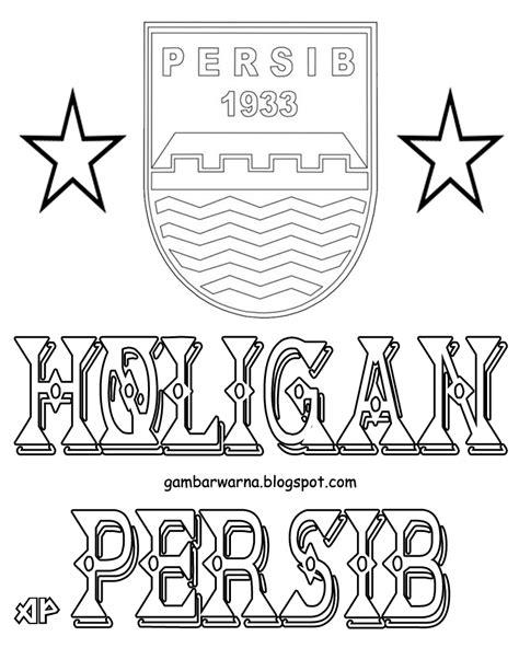 Mewarnai Logo Persib | Belajar Mewarnai Gambar