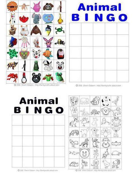 printable animal bingo pinterest the world s catalog of ideas