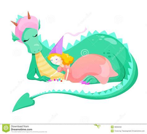 el drag 243 n y la princesa princesa y drag 243 n fotograf 237 a de archivo imagen 38300232