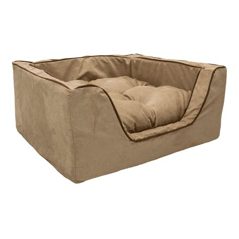 square dog bed replacement cover snoozer luxury square dog bed w