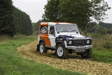 land rover defender 2014 land rover defender one make rally series launched
