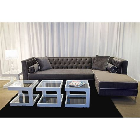 gray velvet sectional luxury grey velvet sofas sofa menzilperde net