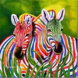 what color is a zebra colorful zebra pictures animal