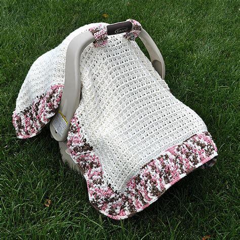 baby car seat blanket crochet pattern crochet pattern waffle stitch car seat by