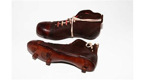 history of football shoes a history of the world object vintage football boots