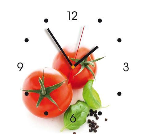 horloge murale d 233 co contento tomates