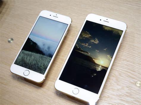 Iphone6 Iphone6plus iphone 6 vs 6 plus le comparatif meilleur mobile