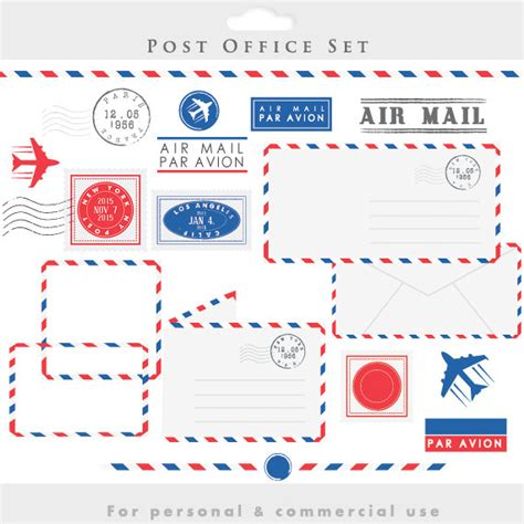 Post Office Insurance On Letters Post Office Clipart Sts Mail Clip Postal Elements