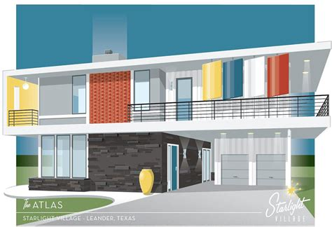 Phil Parade Of Homes Floor Plan by Two Story Mid Century Modern House Plans