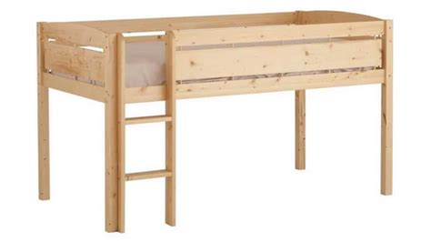 canwood whistler junior loft bed canwood whistler junior loft bed natural youtube