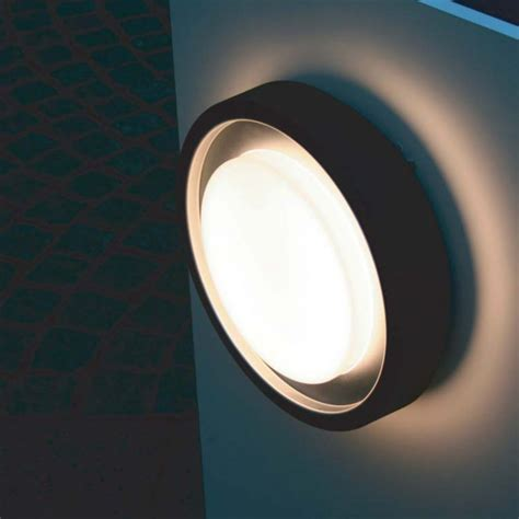 lutec lighting origo 3351 graphite ceiling wall