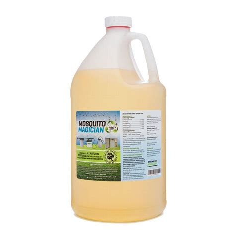 Home Depot Citronella by Mosquito Magician 1 Gal Mosquito Repellant Concentrate 514mmg1 The Home Depot